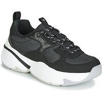 Victoria  AIRE NYLON/SERRAJE PU  women's Shoes (Trainers) in Black