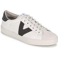 Victoria  BERLIN PIEL CONTRASTE  men's Shoes (Trainers) in White