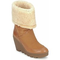 Ash  VARUSHKA  women's Low Ankle Boots in Brown