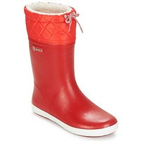 Aigle  GIBOULEE  girls's Children's Snow boots in Red
