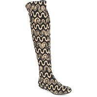 Missoni  SM05  women's High Boots in Brown