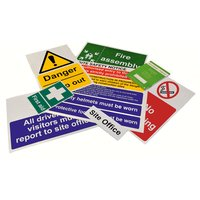 Image of Construction Site Safety Sign Packs - Selection A