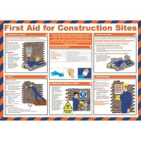Image of First Aid For Construction Sites Poster
