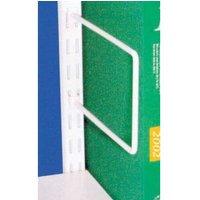 'Flexible Book Ends For Twinslot Shelving - 120 X 150 Upright Fix (pk 20)