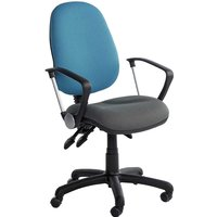 Image of Adjustable Operator Chairs with fixed feet and adjustable footring - height adjustment 620 to 880mm