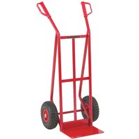 Image of Heavy Duty Handtruck With Puncture Proof Wheels