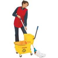 36L yellow mop bucket trolley