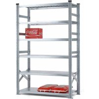 Supershelf Shortspan Shelving - 6 Shelf Starter Bay 1200mmW x 400mmD