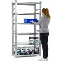 Supershelf Shortspan Shelving - 6 Shelf Starter Bay 900mmW x 320mmD