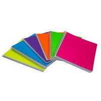 Image of CF6 QUADERNO SPIRALE A5 1R 70F FLUO