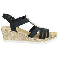 Rieker dames sandaal * een echte eyecatcher is deze sandaal van rieker met de mooie parels en siersteentjes. ...