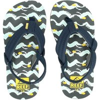 Reef Little Ahi Fish slippers blauw
