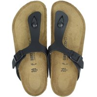 Birkenstock Gizeh slippers zwart