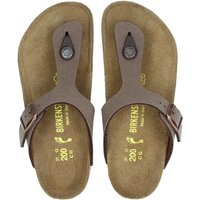 Birkenstock Gizeh slippers bruin