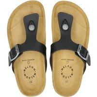 Nelson Kids slippers zwart