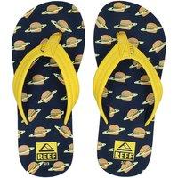 Reef Ahi burger slippers geel