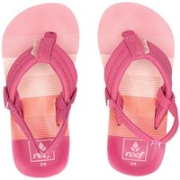Reef Little Ahi slippers roze