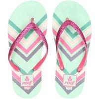 Reef Little Stargazer slippers roze