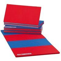 Sport-Thieme® Faltmatte, 360x120x3 cm, Blau-Rot
