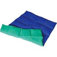 Enste Physioform Reha Schwere Decke/Gewichtsdecke, 90x72 cm / Grün-Blau, Außenhülle Baumwolle - Angebote