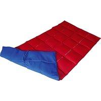 Enste Physioform Reha Schwere Decke/Gewichtsdecke, 144x72 cm / Blau-Rot, Außenhülle Baumwolle - Angebote