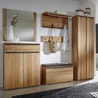 Flur Garderobe Luxus Garderobenmöbel aus Kernbuche Massivholz