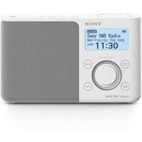 Sony XDRS61DW Portable DAB/DAB+ Radio, White