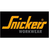 Snickers workwear 9005 printed logo belt riem zwart/geel 90050406000. elastic belt with a distinctive antique ...