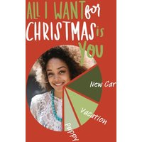 """Image of All I Want For Christmas 7x5"""" (18x13cm) Folded Greeting Cards, Card & Stationery Red"""