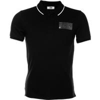 BALR. Silver Club Polo Shirt Black