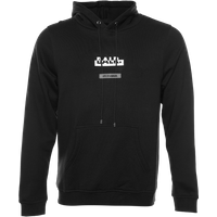 BALR. Contrasting Logo Straight Hoodie Black