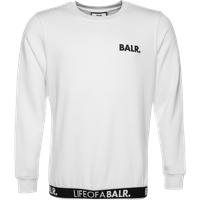 BALR. LOAB Lounge Straight Crew Neck Sweater White