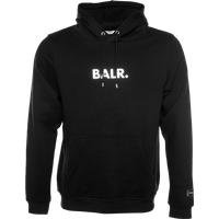 BALR. Embossed Straight Hoodie Black