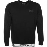 BALR. LOAB Lounge Straight Crew Neck Sweater Black