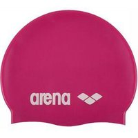 Classic Silicone Badmuts Roze-Wit