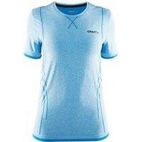 Be Active Comfort RN Ondershirt Korte Mouwen Blauw Dames