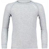 Odlo Shirt LS Crew Neck Warm Kids Grey Melange (104)