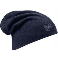 Buff Merino Wool Thermal Hat Buff Solid Denim