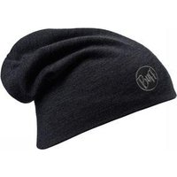 Buff Merino Wool Thermal Hat Buff Solid Black