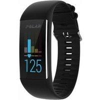 Polar A370 Heart Rate Fitness Tracker Black M-L