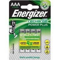 Energizer Power Plus HR03 AAA oplaadbare batterij (potlood) NiMH 700 mAh 1.2 V 4 stuks