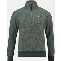 Patagonia Woolyester Fleece Pullover Donkergrijs