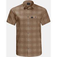 Jack Wolfskin Highlands Shirt Zandbruin-Geschakeerd