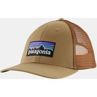 Patagonia P 6 Logo LoPro Trucker Pet Lichtbruin Zandbruin