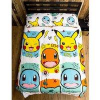 Pokemon Rocks Double Duvet Cover