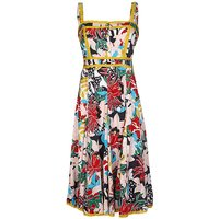 Yumi Curves Jungle Floral Dress