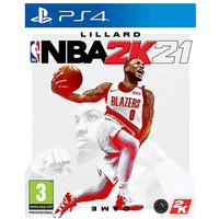 NBA 2K21 (PS4).