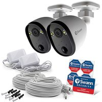 Swann WiFi Outdoor Cameras & Spotlights.