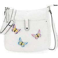 Butterfly Detail Messenger Bag