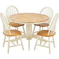 Padstow Circular Table with 4 Chairs